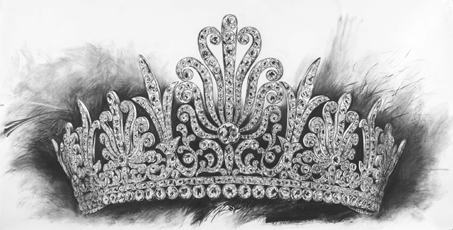 Crown Tiara Drawing Princess  kisspngcom